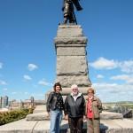 Dr. Andrea Walsh, George & Christiane Smyth