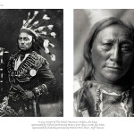 2 images, left archival image of middle-aged Indian man in traditional attire, right, archival image of head shot of older Indian man in traditional attire