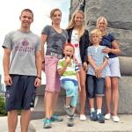 Zuzana Hron & Family
