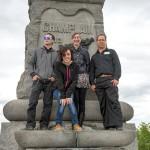 Howard Adler, Andrea Martin, Georgia Mathewson & Christopher Wong