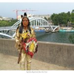 Indians on Tour: La Seine, Port de la Bourdonnais, Paris, France