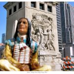 Indians on Tour: Michigan Avenue Bridge, Chicago, Illinois