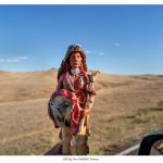 Indians on Tour: Little Bighorn Battlefield, Crow Reservation, Montana