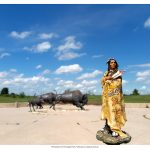 Indians on Tour: Wanuskewin Heritage Park, Saskatoon. Saskatchewan